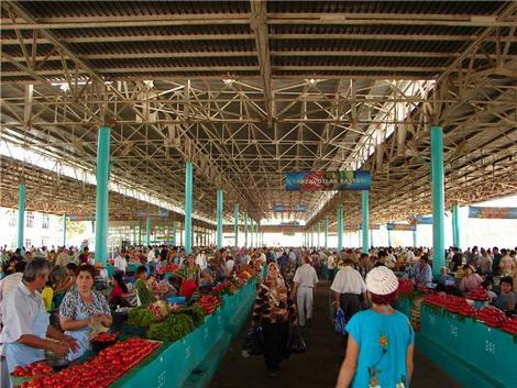 Крытый рынок в ташкенте