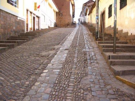 Улица в куско