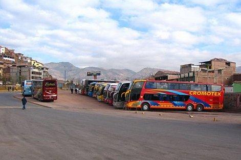 Перу, автобусы на Мачу-Пикчу