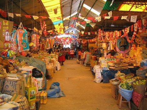 Рынок в Пуно