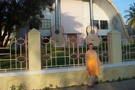 Музыкальный колледж Саи Бабы в Путтапарти