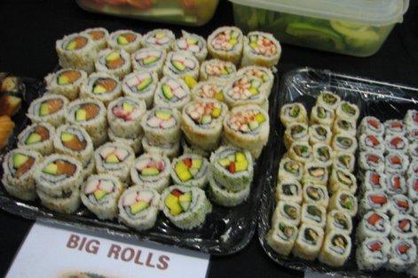 суши в Лондоне