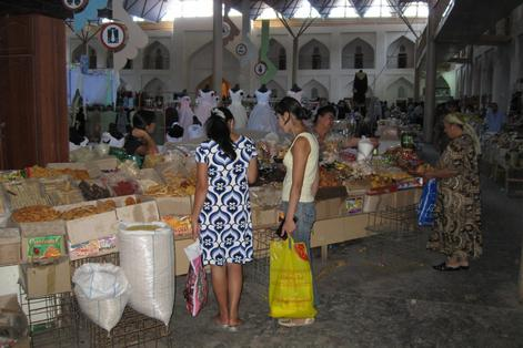 Хива, рынок