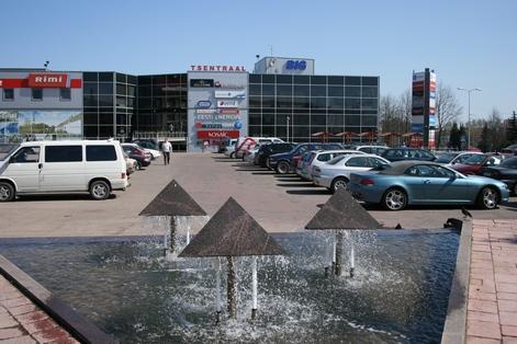 Йыхви, торговый центр