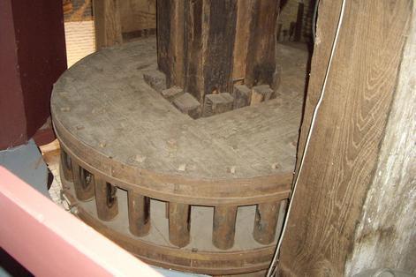мельница внутри, Киндердейк, Голландия