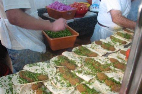 бутерброды с фалафелем