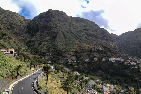 Valle Gran Rey head