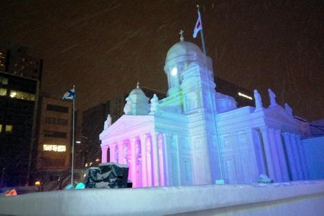 Sapporo snow 13